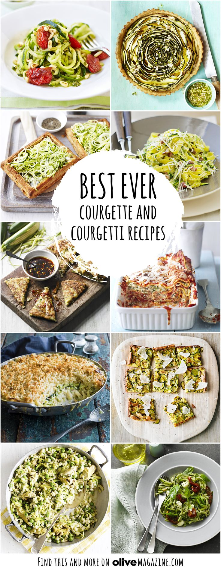 Courgette is a really versatile vegetable, available all year round and a substantial meat alternative. Try courgette twists on classics such as courgette carbonara, courgette lasagne and courgette mac 'n' cheese, go for Korean courgette pancakes with dipping sauce, or stay with the latest healthy food trend with our courgetti recipes, including courgetti, ricotta and tarragon tarts.
