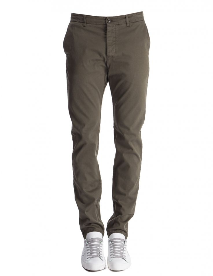 Déjà Vu olive trousers