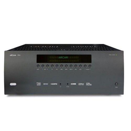 ARCAM – FMJ AVR380. Receptor A/V 7.1 (7x75W) 4K (UHD) compatible con upscaling. 7 Entradas de vídeo y de audio; HDMI, component, composite, Coax SPDIF, Toslink, RCA Phono, USB, Ethernet client, Internet Radio, ARC (display). #Arcam #ReceptorAV #homecinema