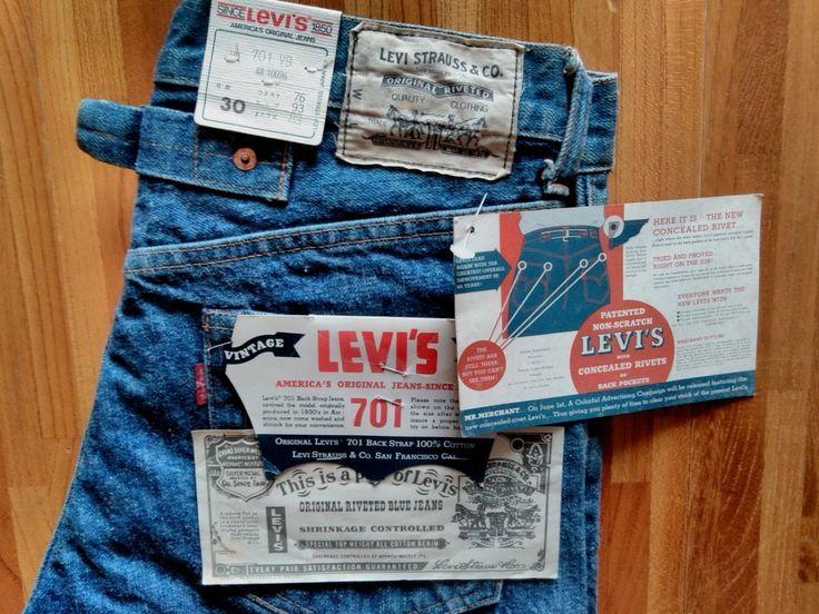 Levis 701 American Vintage Clothing Levis Vintage Clothing Levi