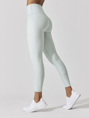 74bd0aaa363856 BEYOND YOGA Spacedye High Waisted Midi Legging Glacier-white 7/8 LENGTH  LEGGINGS
