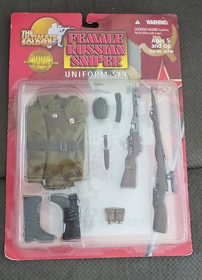 Ultimate Soldier Female Russian Sniper 1:6 Scale Set for ...