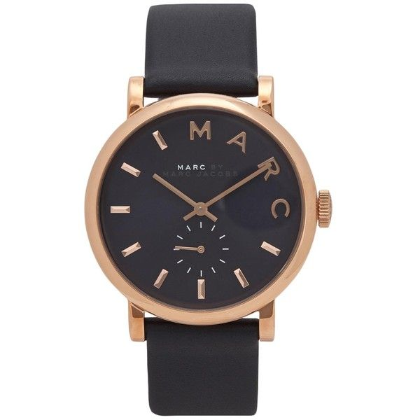 Womens Watches Marc Jacobs Baker Rose Gold Tone Watch ($260) ❤ liked on Polyvore featuring jewelry, watches, accessories, bracelets, relógios, stainless steel jewelry, marc jacobs, stainless steel wrist watch, marc jacobs watches and marc jacobs jewelry