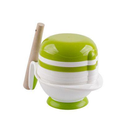 8 Pcs/Set ABS Material Baby Food Grinder masher 2016 New Time-limited Babies Food Mills Tools For Fruit prato infantil de cocina