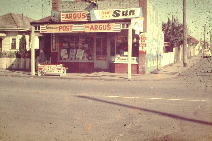 Cnr of Williamstown rd and Dickson st Footscray circa 1956