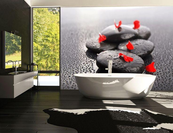 fototapeta na ścianie łazienki