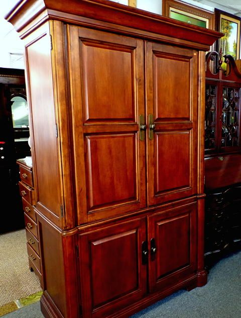 Wardrobe-armoire, 2-piece Furniture  Decor at Dorn\u0027s Used - Used Bedroom Sets