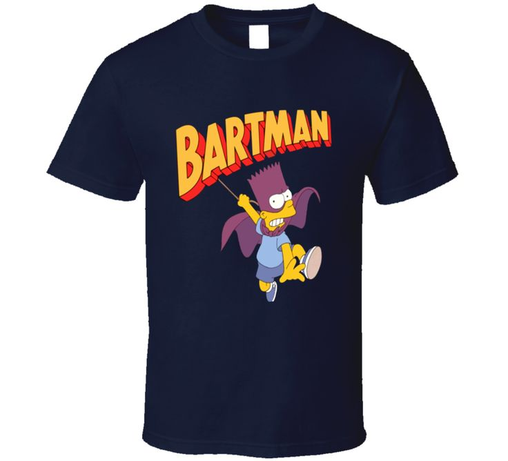 Bartman Bart Simpson  T Shirt