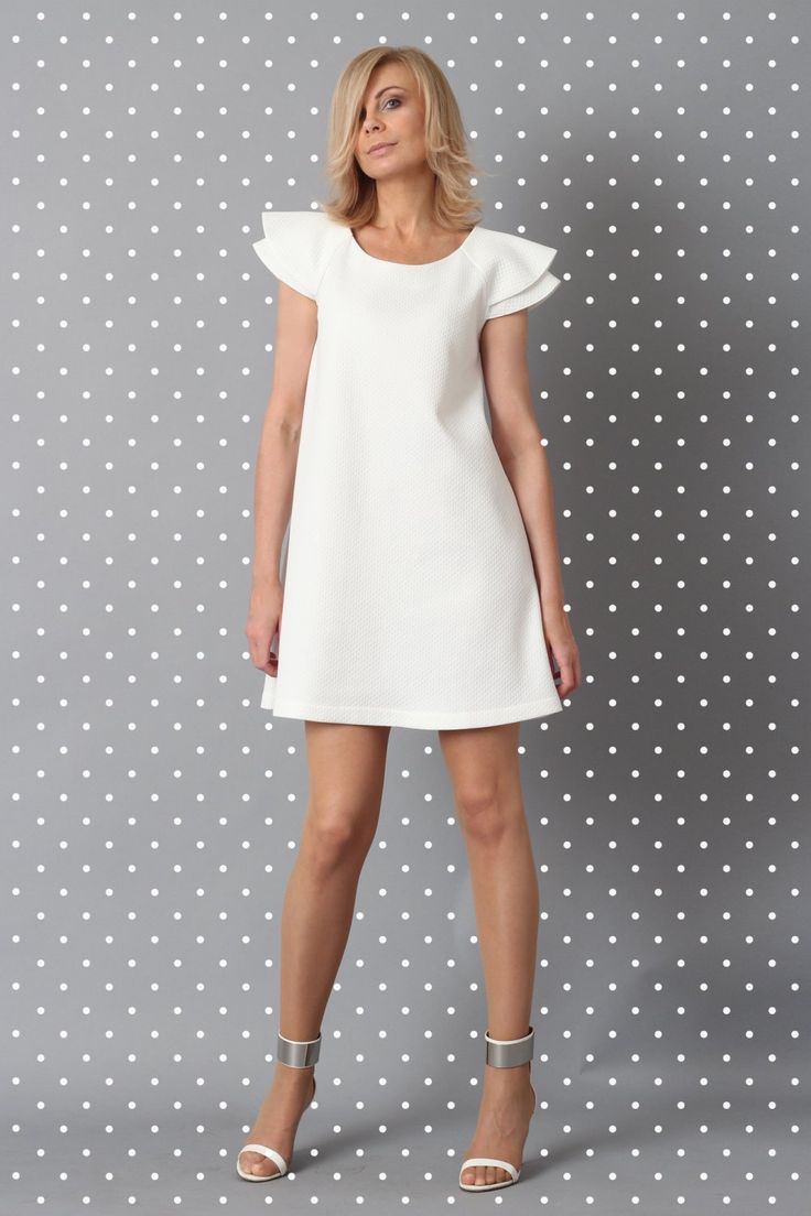 dress SUZU white