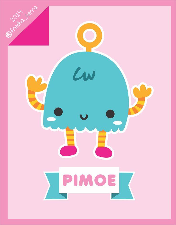 """""""Pimoe"""" Littel monster ^_^"""