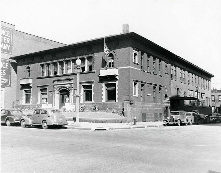 Otis Elevator Company at the northwest corner of Twenty-third and Locust Street. 2301 Locust Street. | collections.mohistory.org