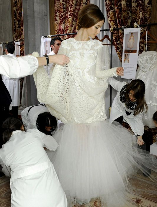 Inside Dolce & Gabbana's exclusive couture club - Telegraph