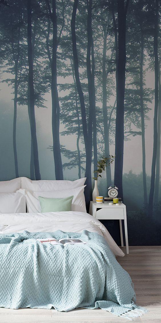 105 best Forest Wallpaper Murals images on Pinterest