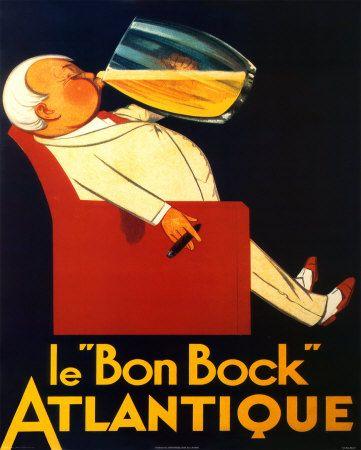 Bon bock vintage adv