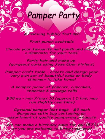 Princess pamper party | Be Pampered from Head to Toe!