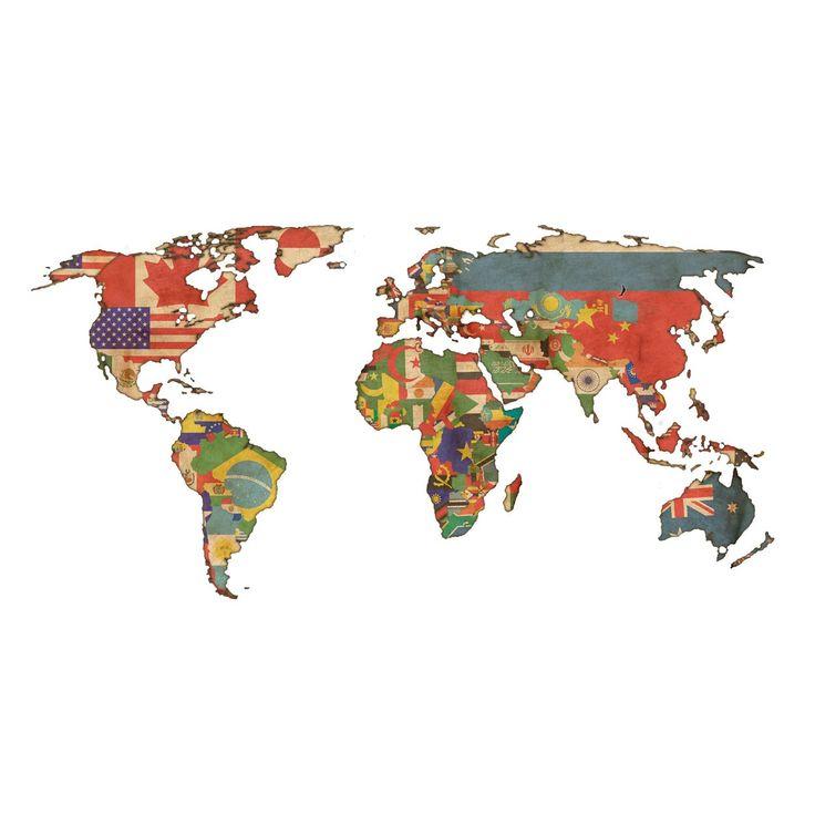 El Armario Nequi ~ 25+ melhores ideias sobre Adesivo Mapa Mundi no Pinterest Paredes de dormitório, Paredes do