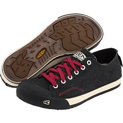 """My physical therapist wagged his finger at me for wearing Converse, but these are a cute alternative and on the """"approved"""" list of shoes I can wear for my funky knee.  Keen - Coronado"""