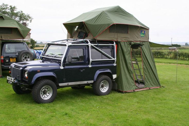 Landrover Tent 1998 Land Rover Defender 90 Galv Chassis