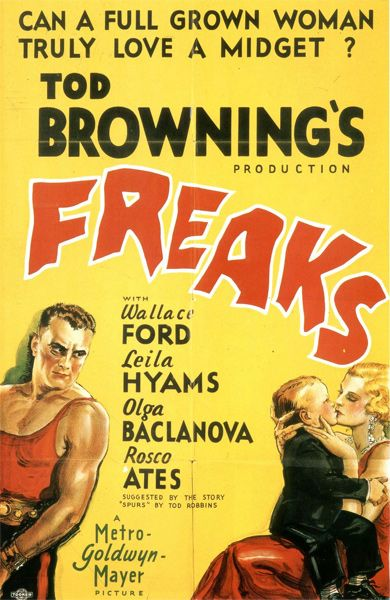 """The 50 Silliest Horror Movie Taglines FREAKS """"Can a full grown woman truly love a"""