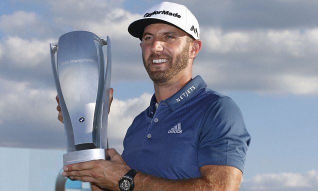 Dustin Johnson wins BMW Championship and he is at the top of the FedEx Cup.