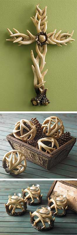 17 best ideas about deer antler decorations on pinterest for Antler decoration ideas