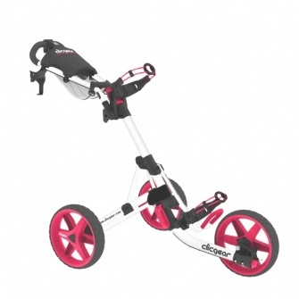 ClicGear 3.5 + Golf Push Cart - Smitty's Dot Golf