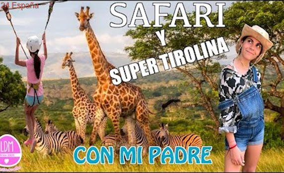 SAFARI Y SUPER TIROLINA CON MI PADRE/LA DIVERSION DE MARTINA