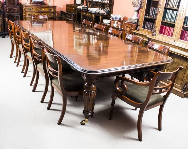 A stunning antique dining table and chair set  circa 1850 42 best Table and chair sets images on Pinterest   Dining tables  . Antique Dining Room Chair Sets. Home Design Ideas