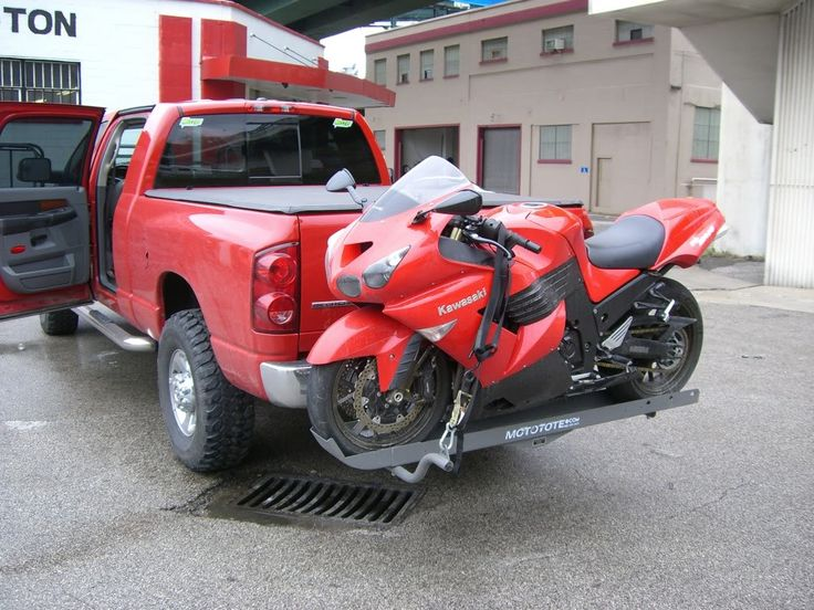 Mototote Hitch Mounted Motorcycle Carrier Page 3