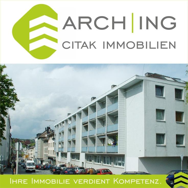 2 Zimmer Eigentumswohnung mit Küche, Diele, Bad und Loggia in Wuppertal-Elberfeld.