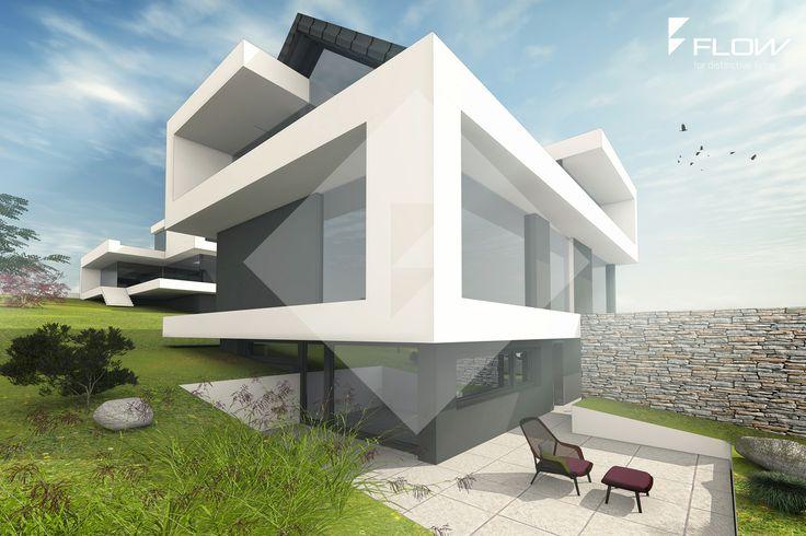 moderne satteldachvillen in starnberg moderne h user satteldach pinterest. Black Bedroom Furniture Sets. Home Design Ideas