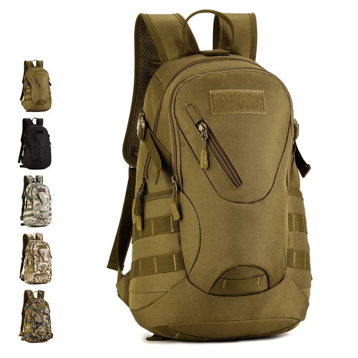 HS RIMA Impermeable 3D Mochila Táctica Militar Mochila Bolsa de Camuflaje Mochila de Viaje 20L para Caminata Trek X67