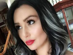 No more mom hair for JWoww! Jenni 'JWoww' Farley took to Instagram on Friday, where she showed off her brand new black and gray highlighted locks.