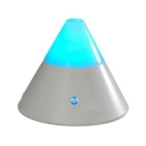 ZENBOW Aroma Diffuser + 2 FREE OILS (EOD brand - Lavender & Rose), Ioniser & Colour Changing Mood Light - All in one.    So candles are out, as is anything hot, gloopy, or messable.  This may be the answer to creating lovely smells without endangering either children or home.