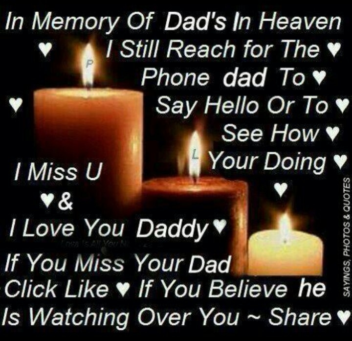 In memory of daddy...