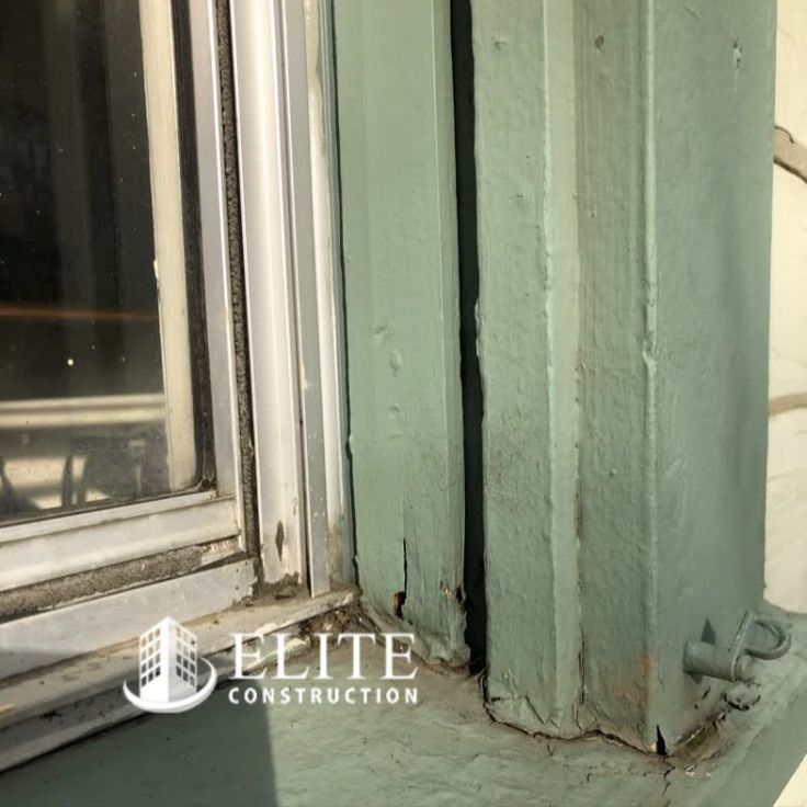 Fungus Infection And Damage Was Noted To The Window Trim And Or Sill Caused By Uncontrollable Exterior Moisture Sources Window Trim Exterior Wood Wood Repair
