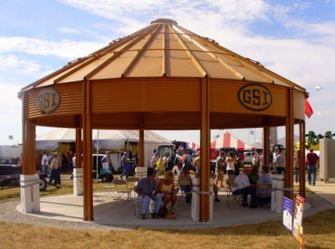Grain Bin Shelter Ideas For Show Barn Pinterest Aunt