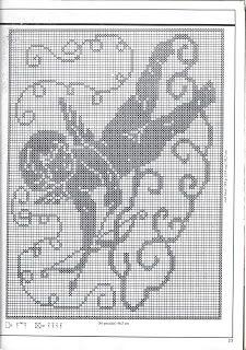 Häkeln Crochet Häkeln Filethäkeln Motive Muster Crochet