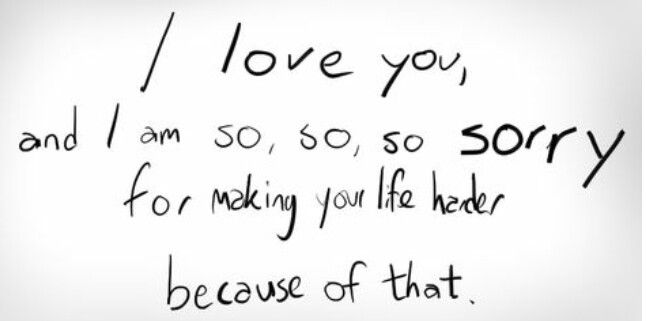 I love you quote sos