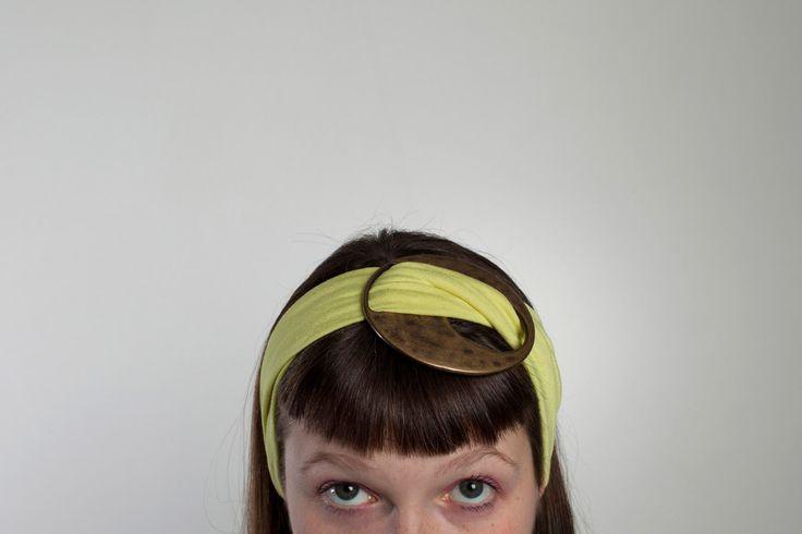 Fasce per capelli con fibbia centrale di LucyvanFelt su Etsy