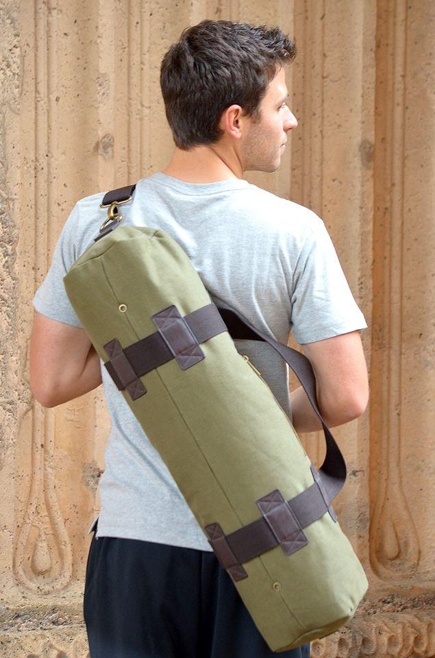 Trooper Yoga Bag in Olive