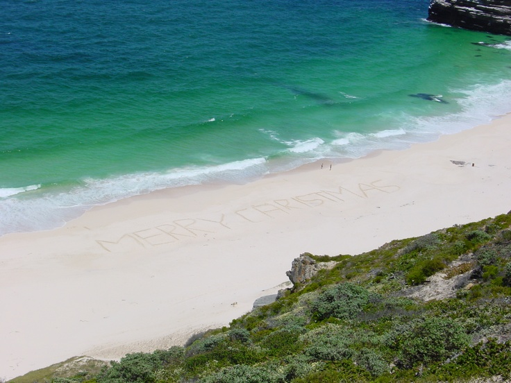 Merry Christmas @ Diaz Beach / Cape Of Good Hope 2002