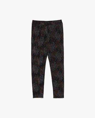 Image 6 of JACQUARD JOGGING PANTS from Zara