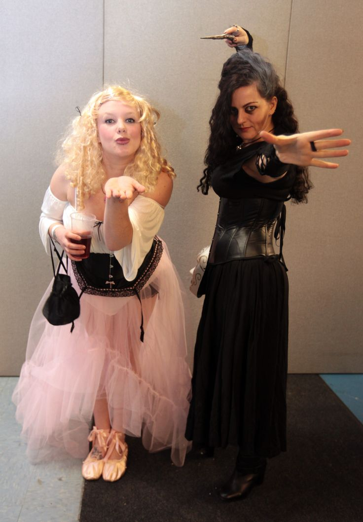 Costumes and characters at Newcastle Comic Con 2014. #BellatrixLestrange #HarryPotter #CourtneyLove