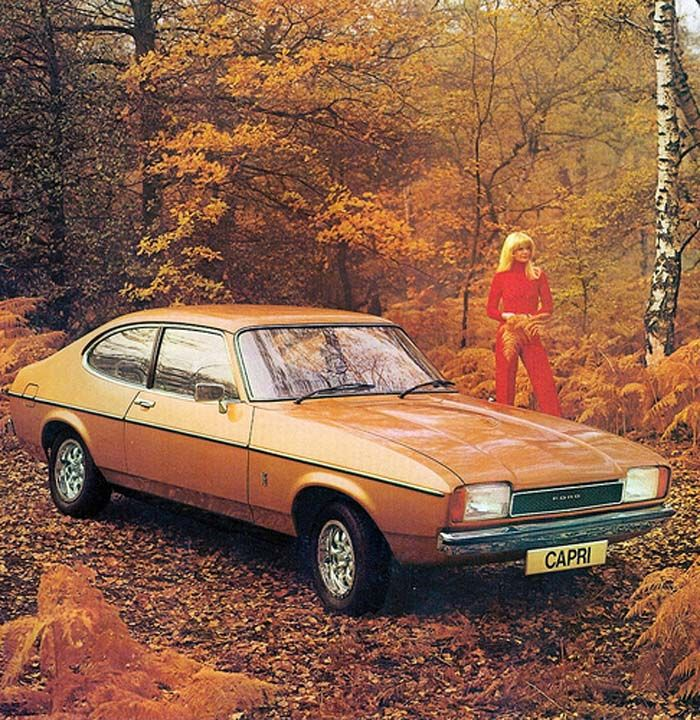 105 Best Images About Ford Capri On Pinterest