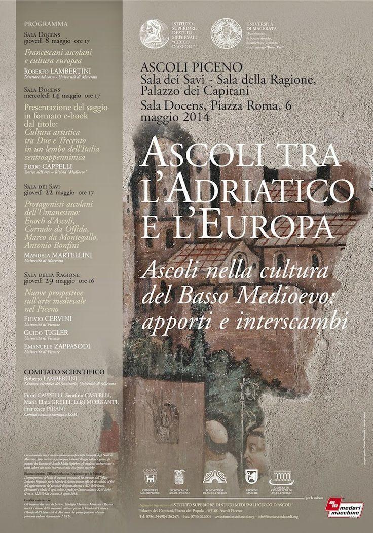 Italia Medievale: Ascoli nella cultura del Basso Medioevo: apporti e interscambi