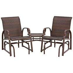 Charlevoix Tete A Tete Double Glider Chairs Chairs
