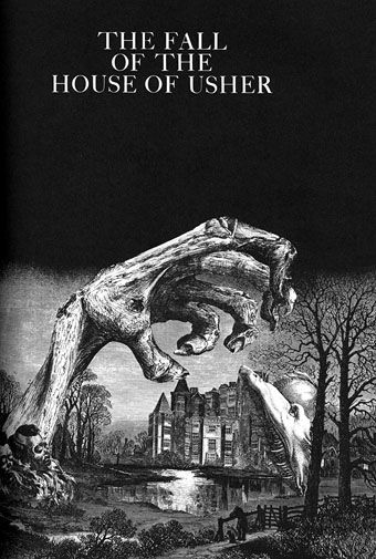 an analysis of the short story the sphinx by edgar allan poe
