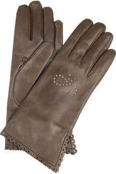 Anya Hindmarch - Lotta leather gloves