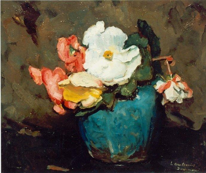 """Alide M.M. Arntzenius """"Flowers in a ginger jar"""""""